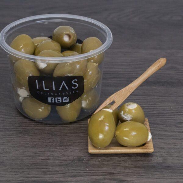 Feta olijven
