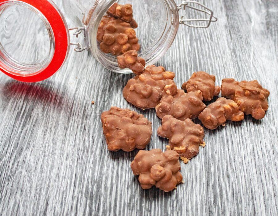 Melkchocolade cookie fudge